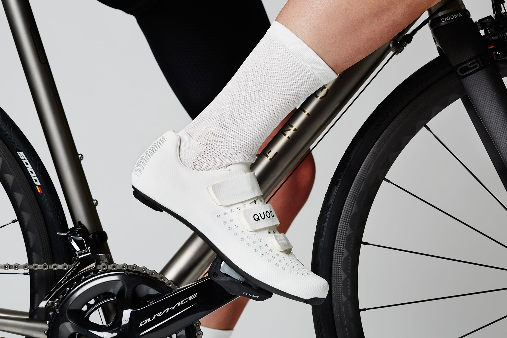 Quoc Aerofoil Road Cycling Sock