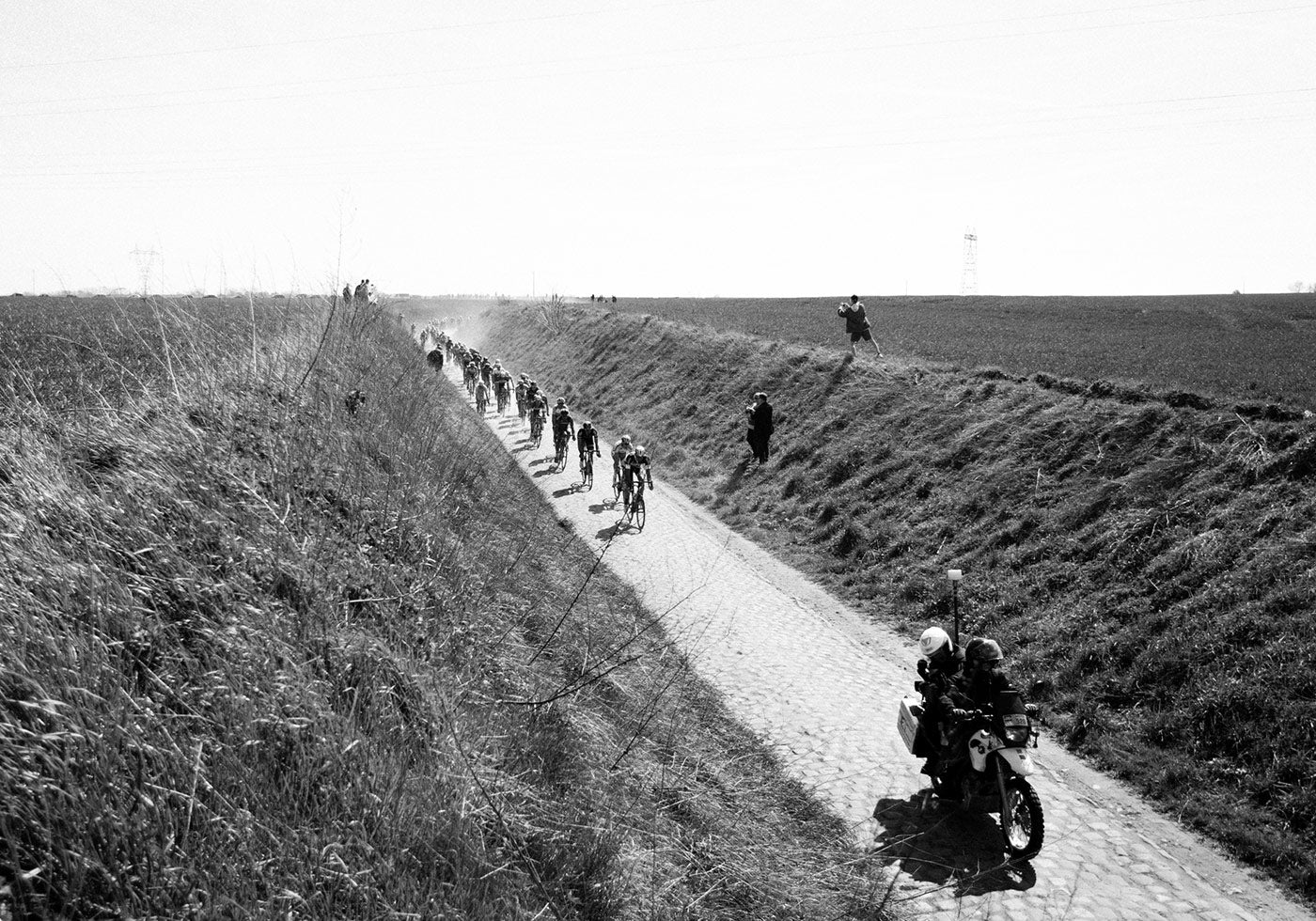 Riding the Paris Roubaix