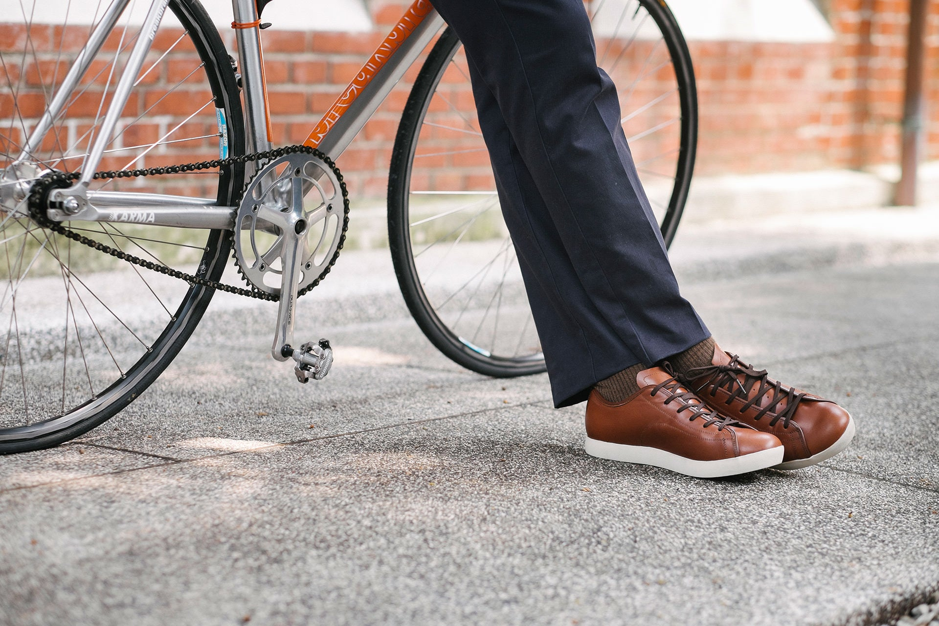 Quoc Urban Cycling shoes - SPD commuter bike footwear