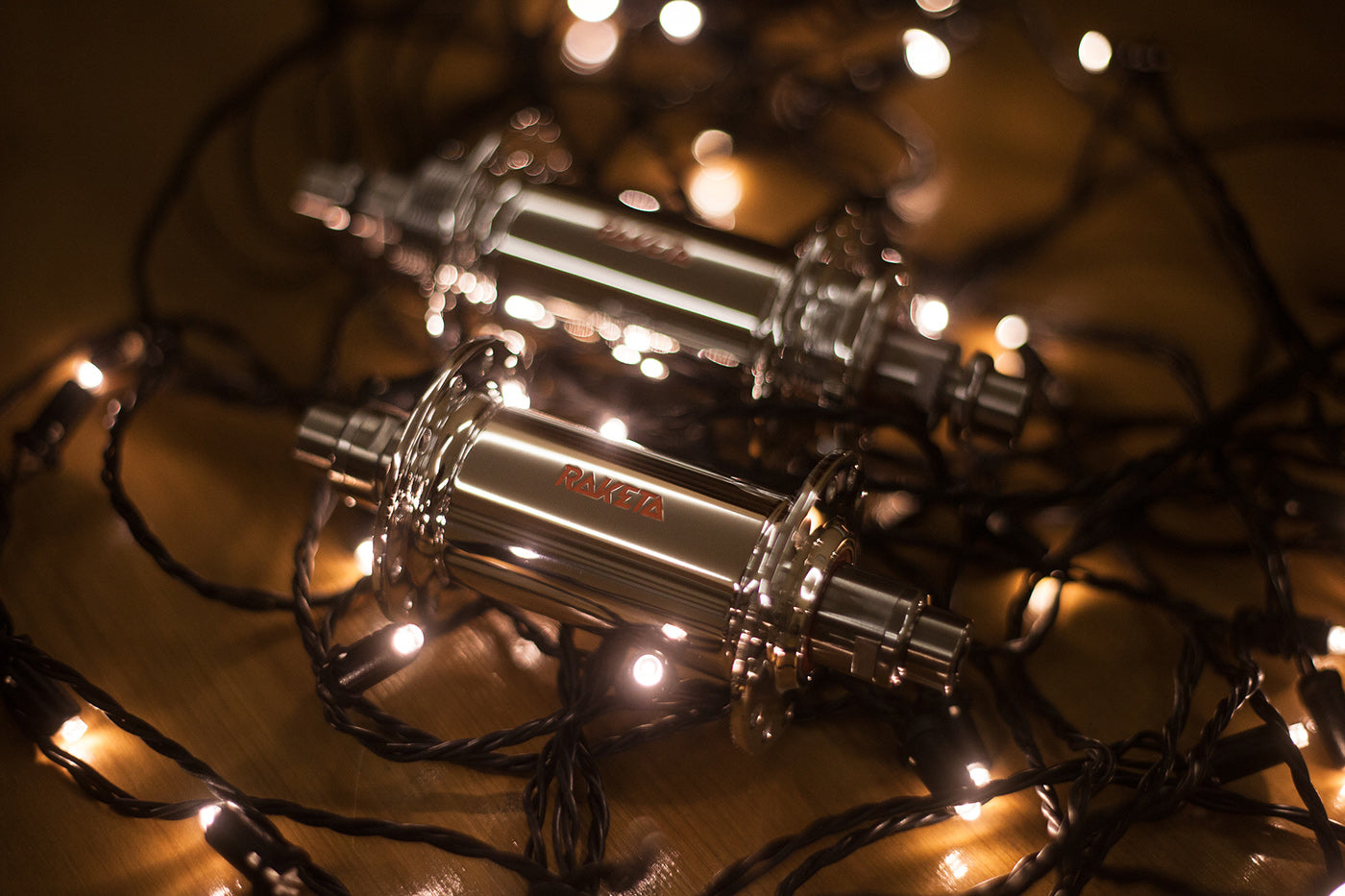 Raketa Hubs with lights