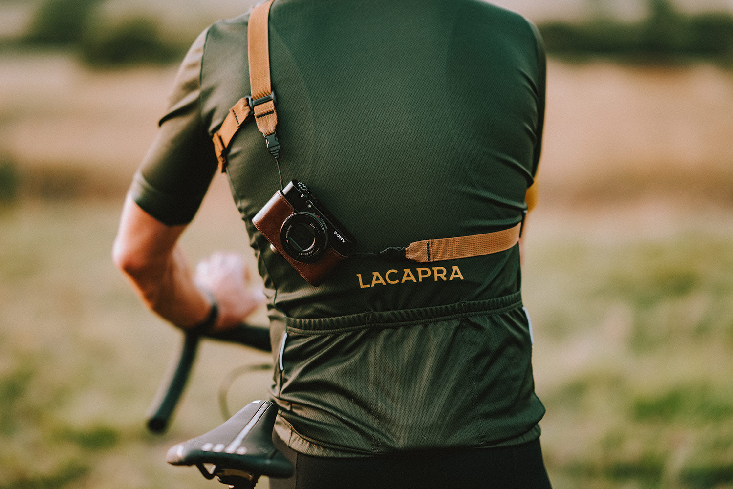 Cycling Camera Strap for the Sony RX100