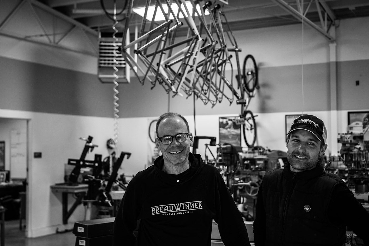 Tony Pereira and Ira Ryan of breadwinner Cycles