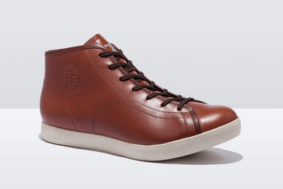 Quoc Urbanite High Top Shoes - Tan
