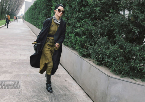 Milan Fashion Week: Lemuria on Best Street Style Photos by Vogue