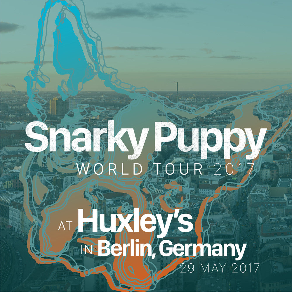 May 29 2017 Berlin Germany Flac Snarky Puppy