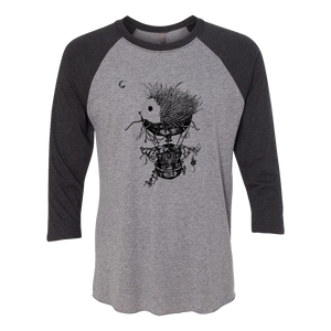 Immigrance Hedgehog Raglan