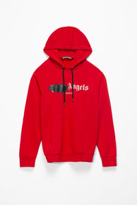 Palm Angels Paris Sprayed Logo Hoodie  - XHIBITION