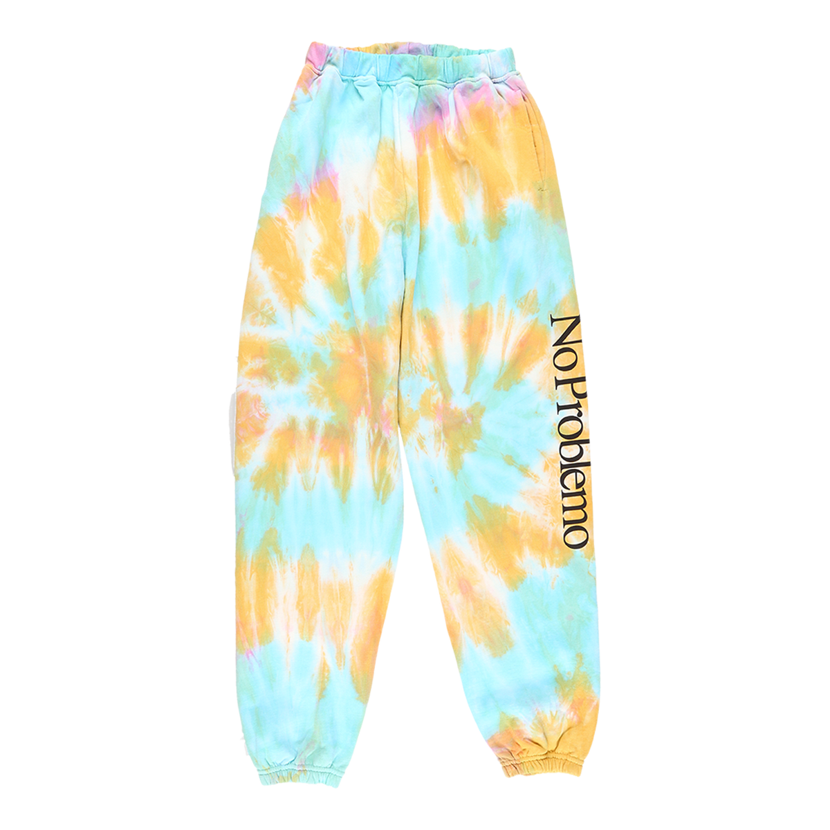 Aries No Problemo Tie Dye Sweatpants  - XHIBITION