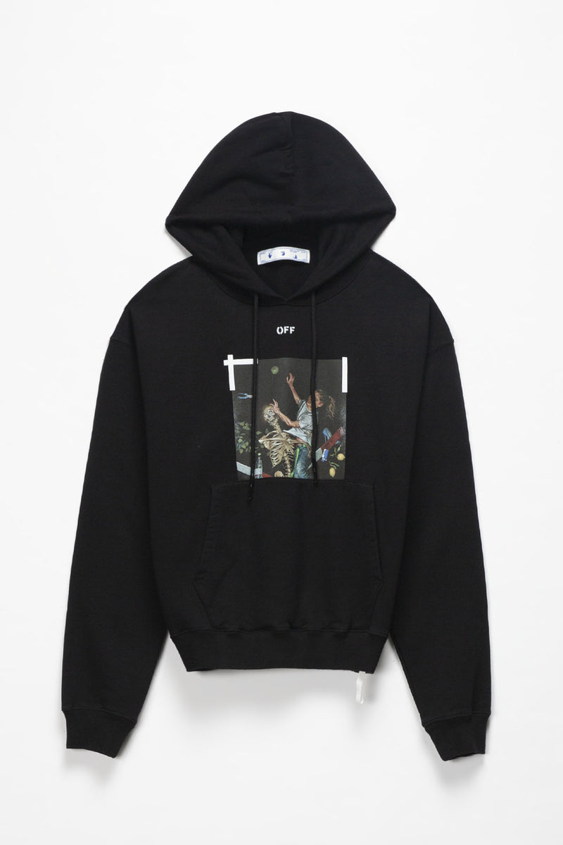 Off-White Pascal Print Oversized Hoodie  - XHIBITION