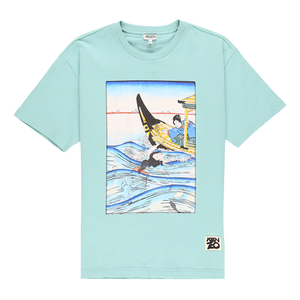 Kenzo Seasonal Big Photo Print T-Shirt  - XHIBITION