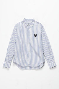 Comme des Garcons PLAY Women's Striped Shirt  - XHIBITION