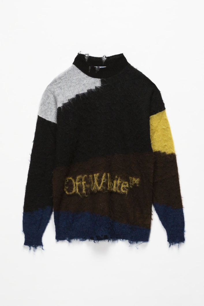 Off-White OW Punked Crewneck  - XHIBITION