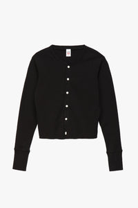RE/DONE Women's 50s Cropped Button Long Sleeve  - XHIBITION