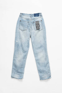 Ksubi Women's Chlo Wasted Bust A Cap Jeans  - XHIBITION