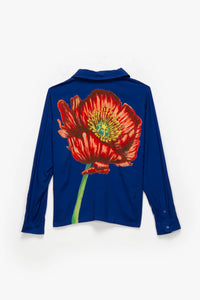 Stüssy Big Poppy Long Sleeve Shirt  - XHIBITION
