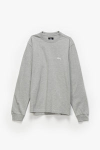 Stüssy Stock Logo Long Sleeve T-Shirt  - XHIBITION