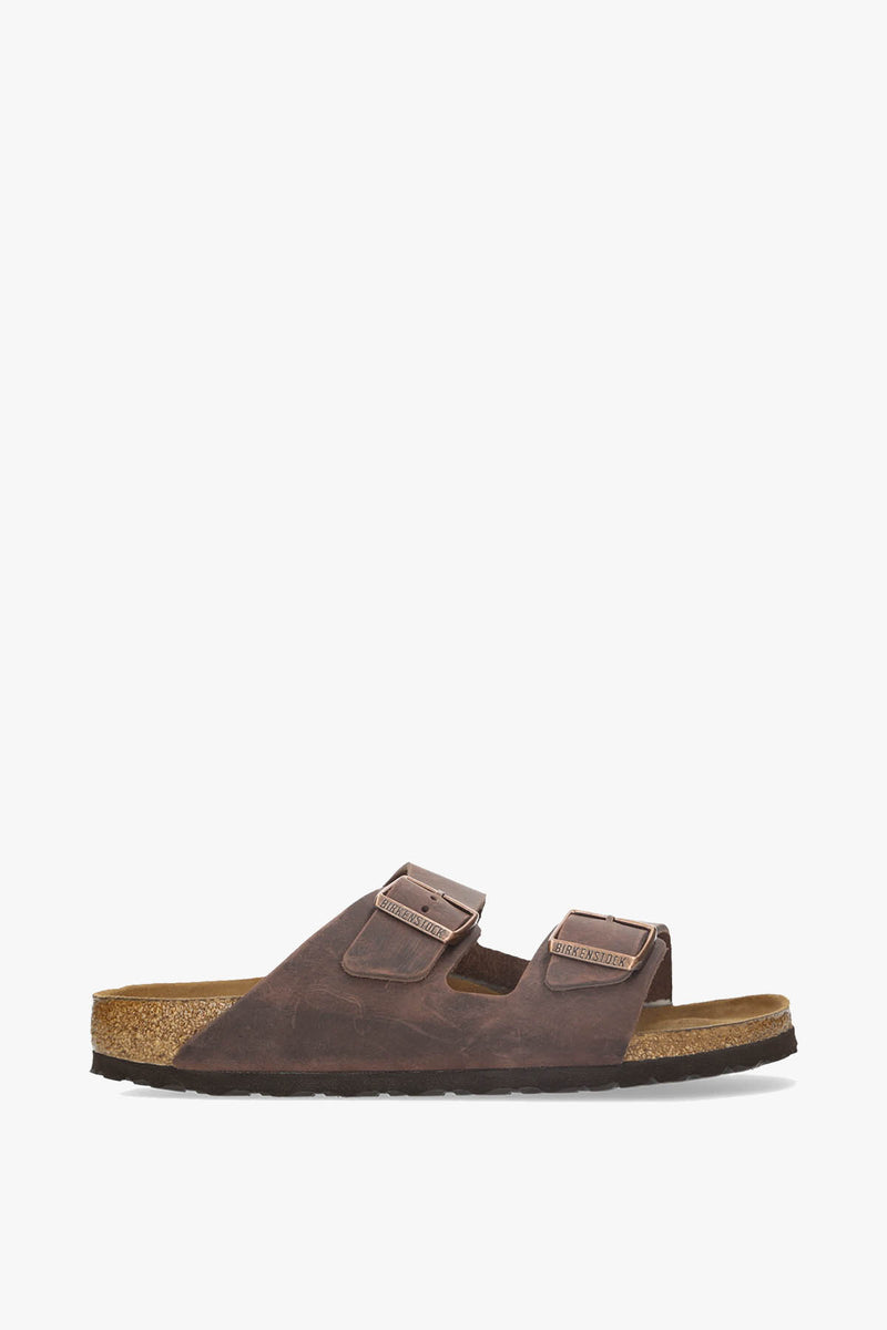 Birkenstock Arizona Soft Footbed Oiled Leather Sandal  - XHIBITION