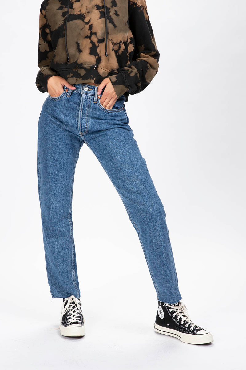 RE/DONE Women's 70s Stove Pipe Jeans  - XHIBITION