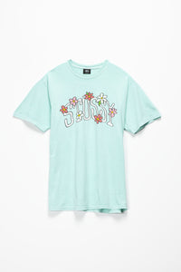 Stüssy Flower Collegiate T-Shirt  - XHIBITION