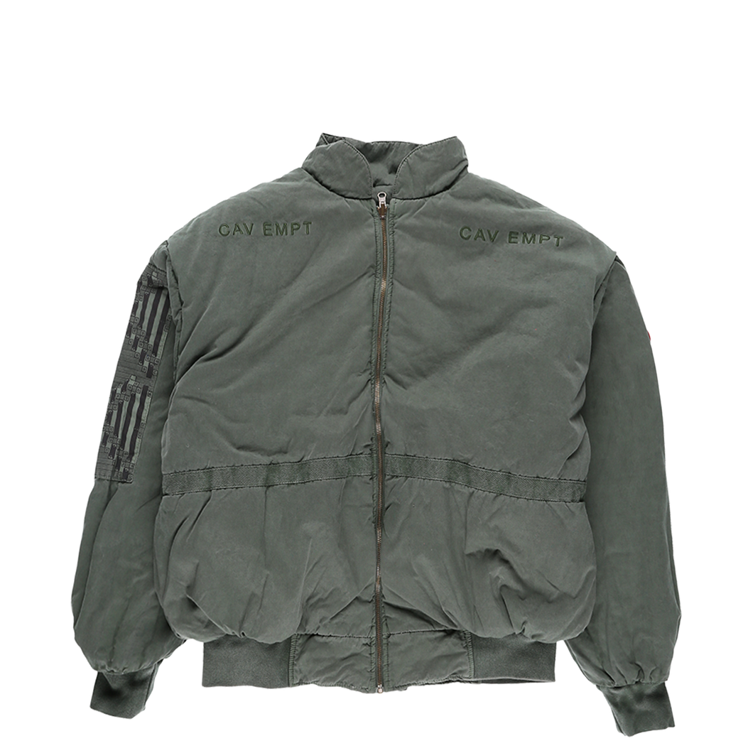 Cav Empt Overdye Rev Zip Jacket  - XHIBITION