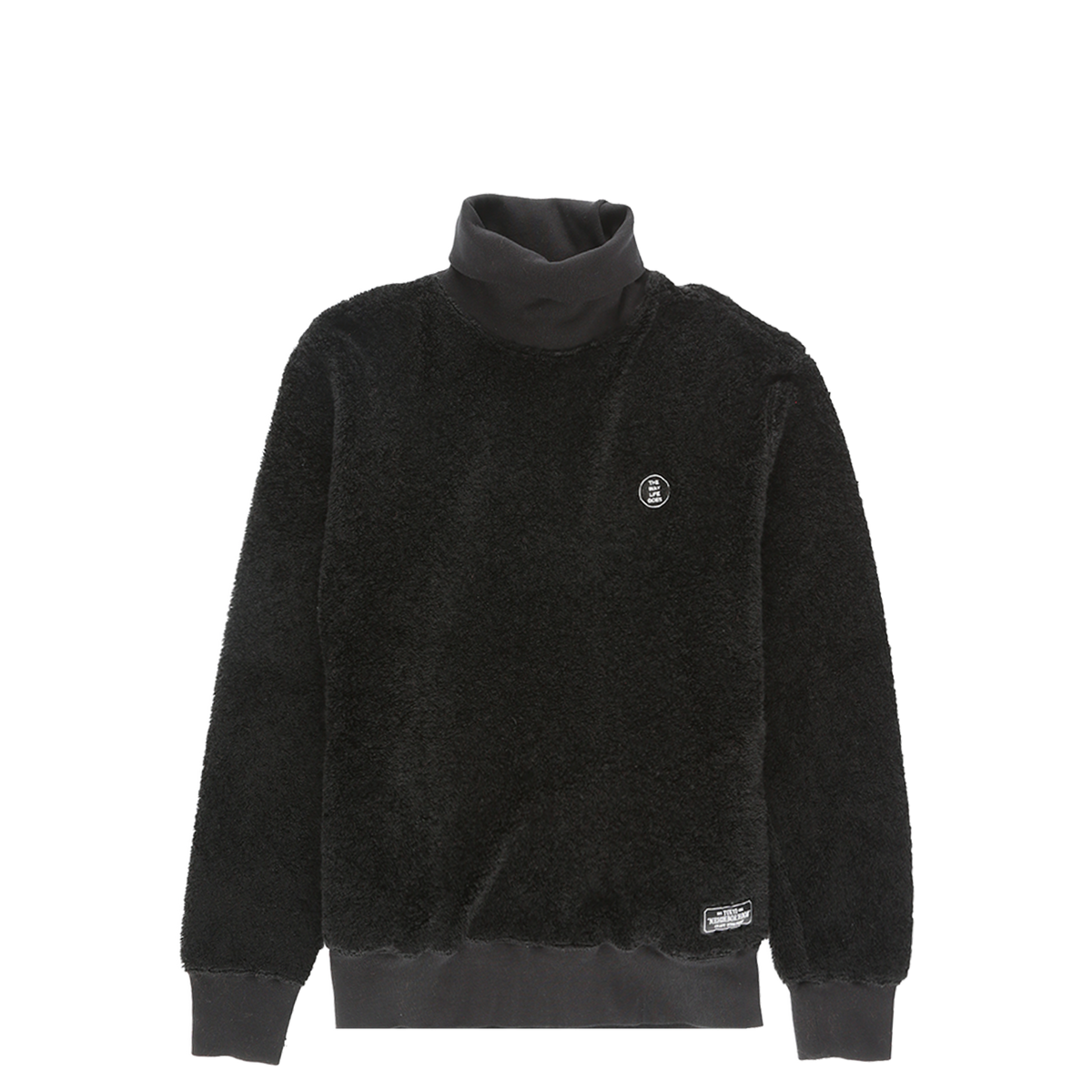 Neighborhood Polar Fleece Turtleneck  - XHIBITION