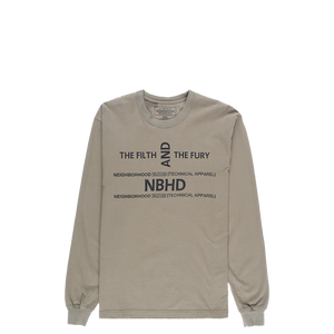 Neighborhood The Filth and Fury Long Sleeve T-Shirt  - XHIBITION