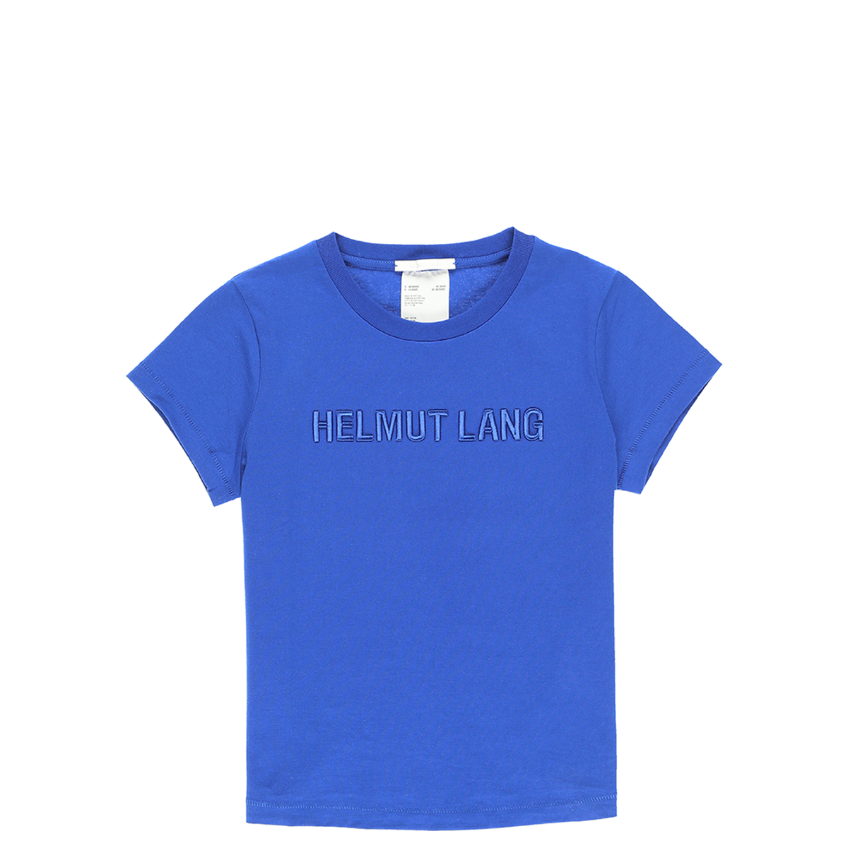 Helmut Lang Women's Standard Raised Embroidery Baby T-Shirt  - XHIBITION