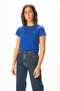 Helmut Lang Standard Raised Embroidery Baby T-Shirt  - XHIBITION