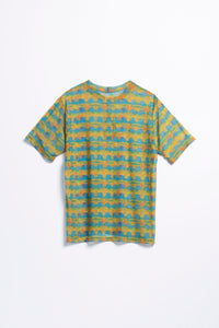Stüssy Women's Printed Plaid Mesh T-Shirt  - XHIBITION