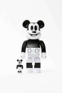 Medicom Mickey Mouse Be@rbrick 100% + 400% Set  - XHIBITION