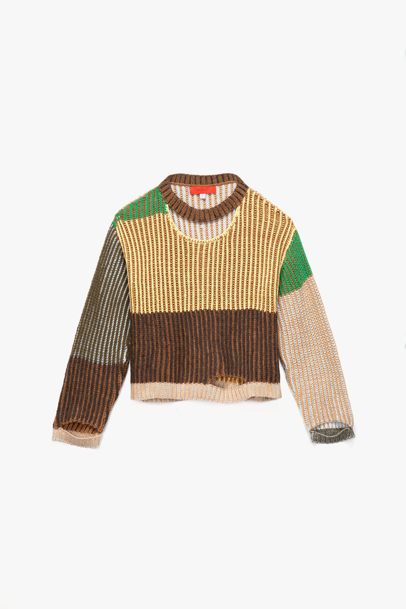Eckhaus Latta Women's Wiggly Road Sweater  - XHIBITION