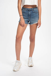 Alexander Wang Women's Denim Bite Shorts  - XHIBITION