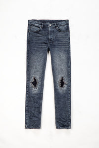 Ksubi Chitch Blue Kolla Slashed Jeans  - XHIBITION