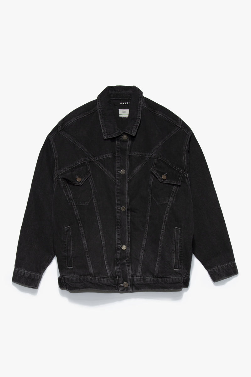 Ksubi Women's New Wave Denim Jacket  - XHIBITION