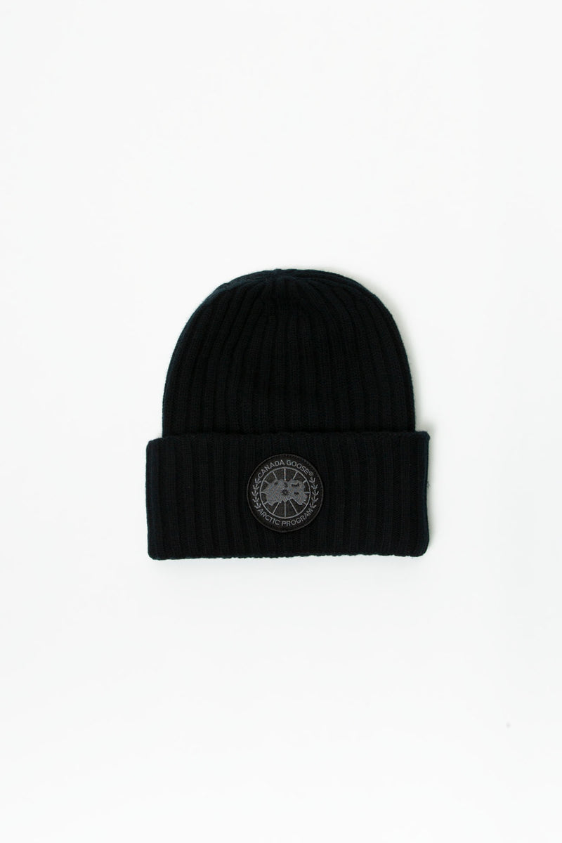 Canada Goose Black Disc Rib Toque  - XHIBITION