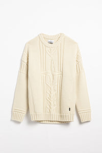Stone Island Cable Knit Sweater  - XHIBITION