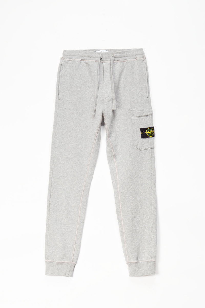 Stone Island Patch Logo Fleece Pants  - XHIBITION
