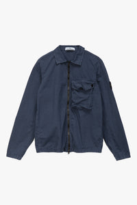 Stone Island Badge Logo Overshirt  - XHIBITION