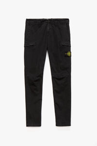 Stone Island Badge Logo Cargo Pants  - XHIBITION
