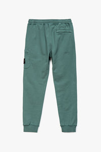 Stone Island Badge Logo Cargo Sweatpants  - XHIBITION