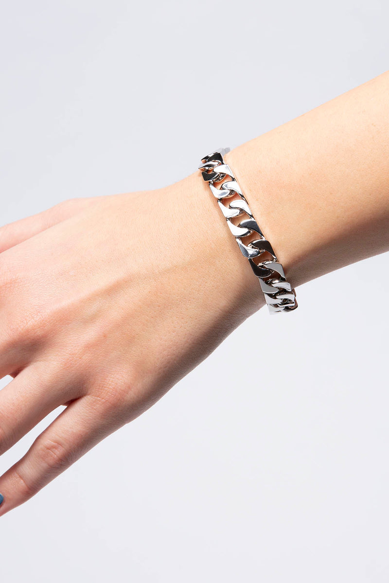 Numbering Sharpen Chain Bracelet  - XHIBITION