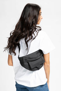 Ganni Women's Recycled Tech Fabric Bags  - XHIBITION