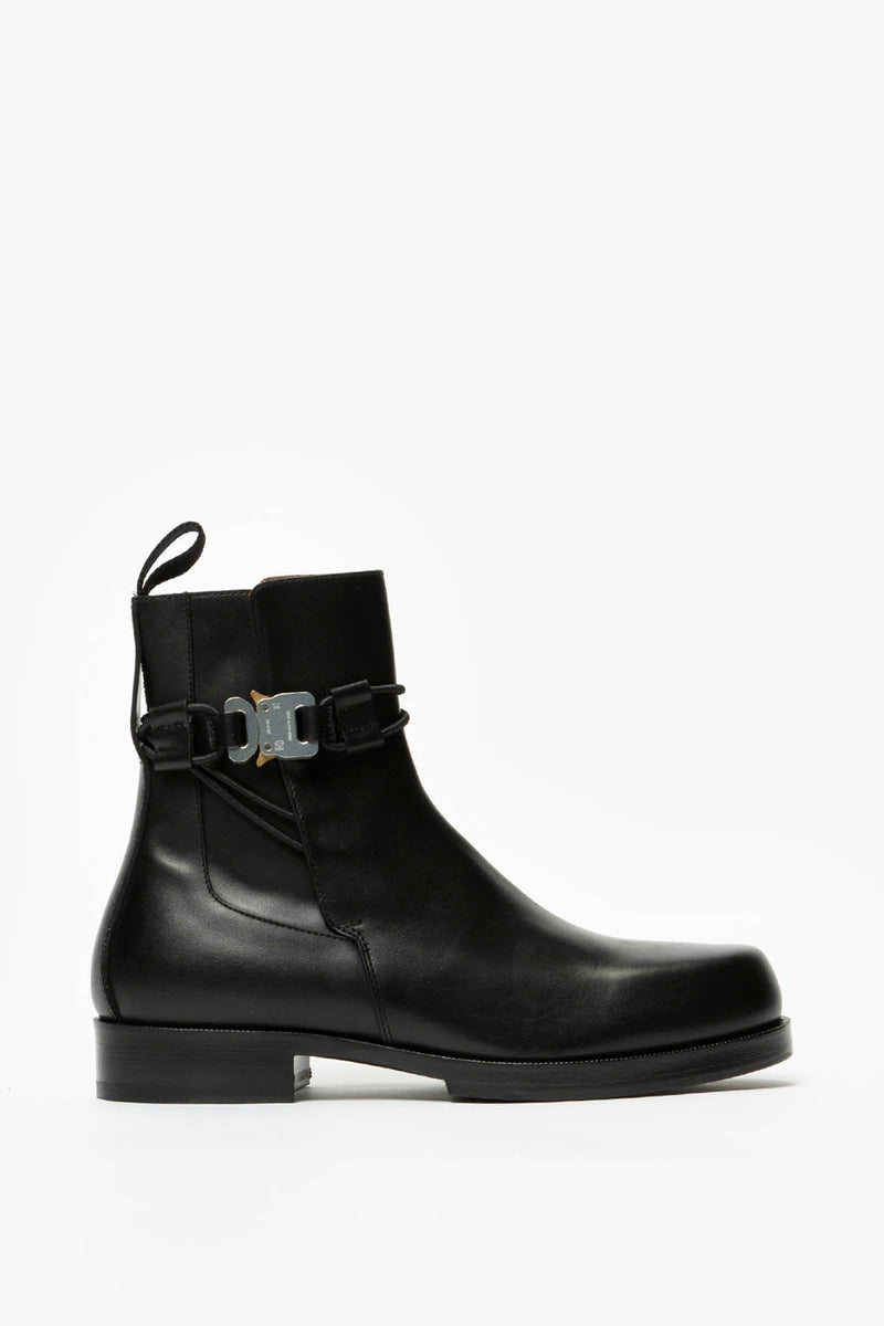 1017 ALYX 9SM Low Buckle Boot With Leather Sole  - XHIBITION