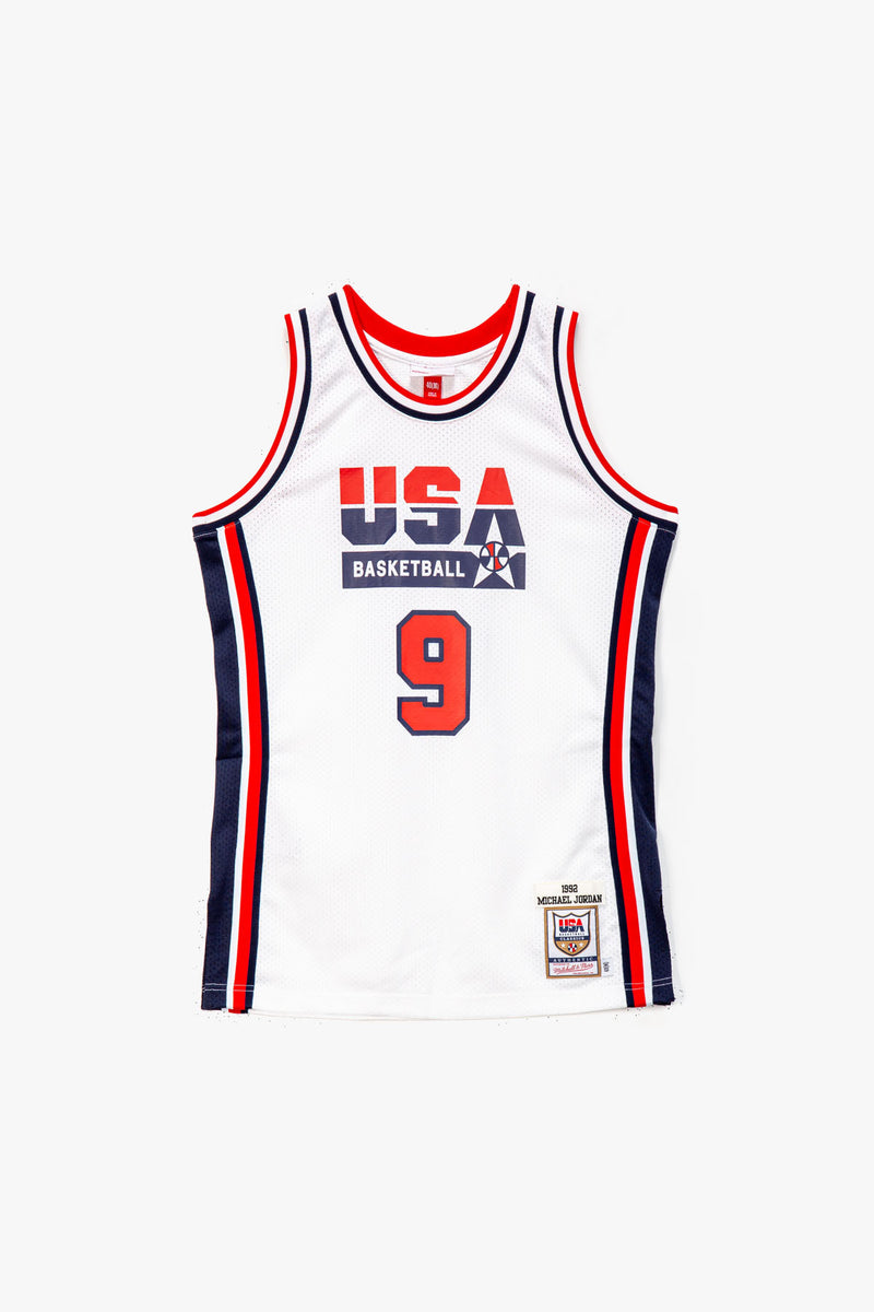 Mitchell & Ness Team USA Michael Jordan Jersey  - XHIBITION