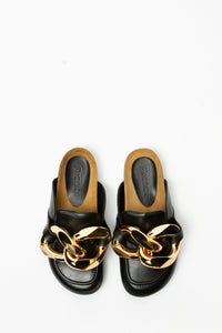 JW Anderson Women's Leather Mule  - XHIBITION