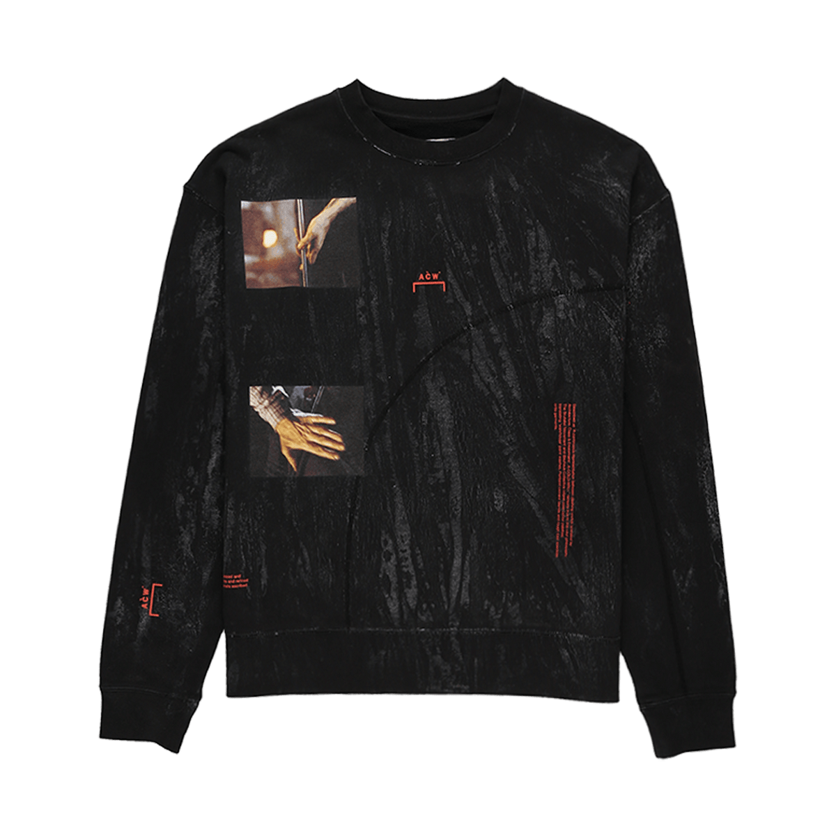 A-COLD-WALL* Glass Blower Crewneck  - XHIBITION