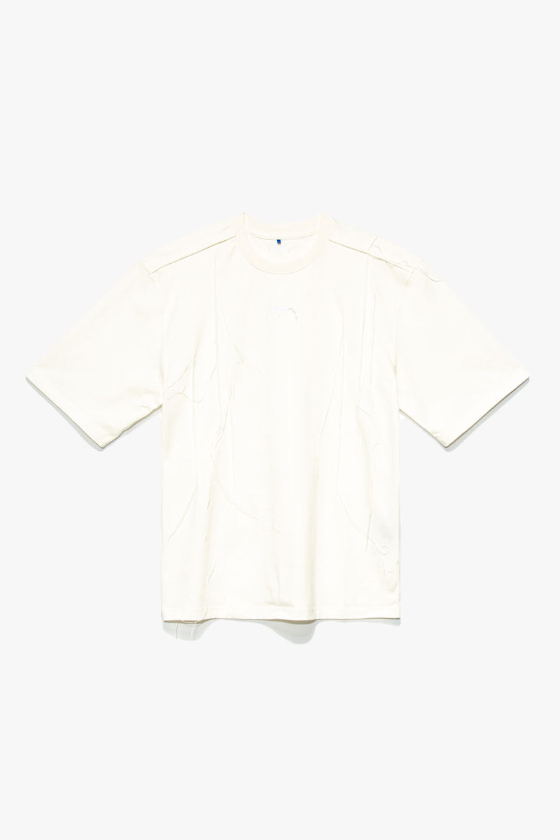 Ader Error Frayed Logo T-Shirt  - XHIBITION
