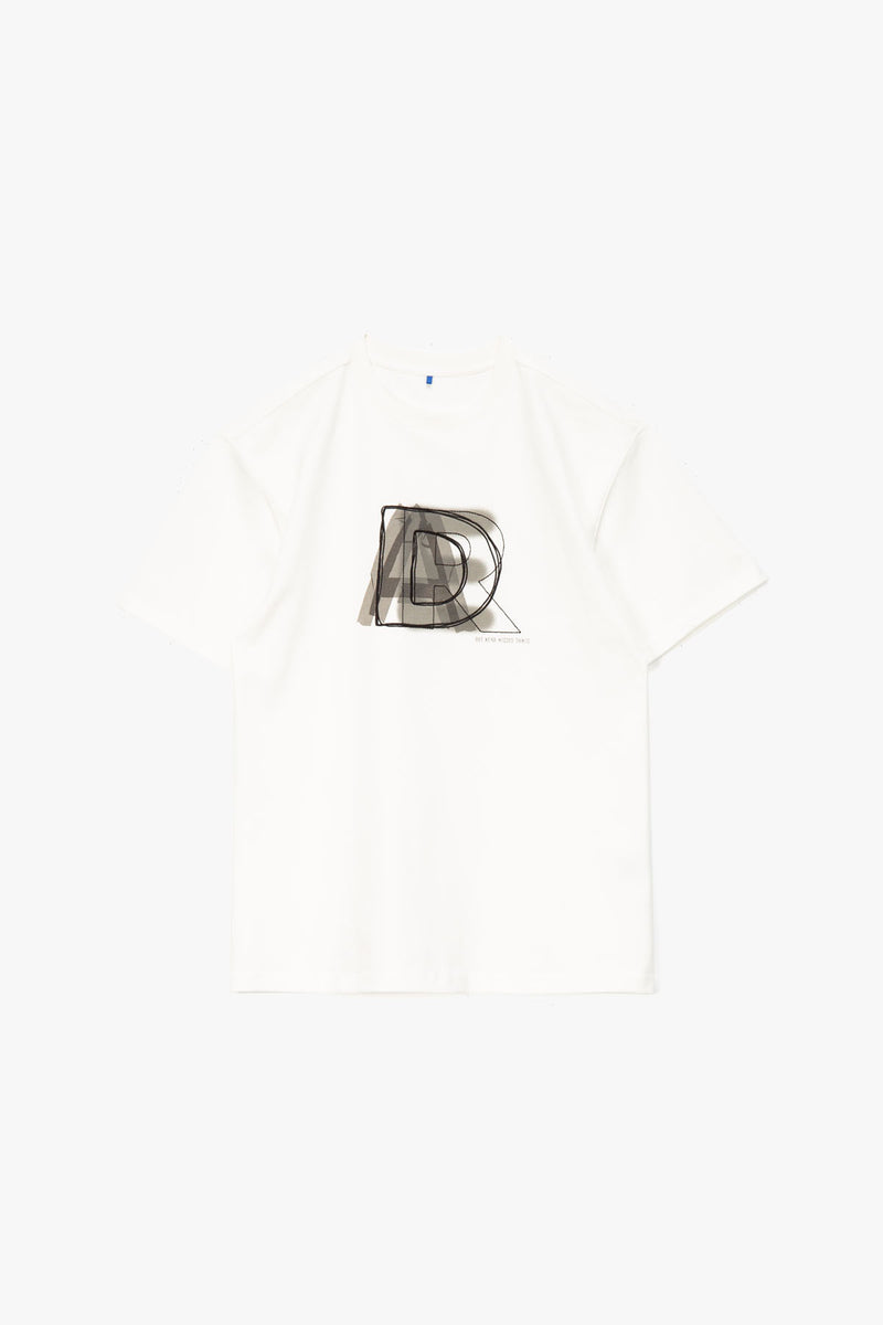 Ader Error Stacked Logo T-Shirt  - XHIBITION