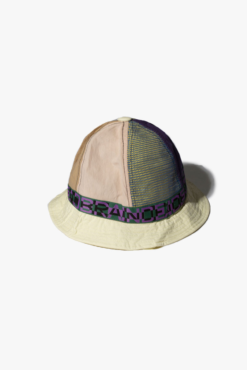 Nigel Color Blocked Bell Bucket Hat