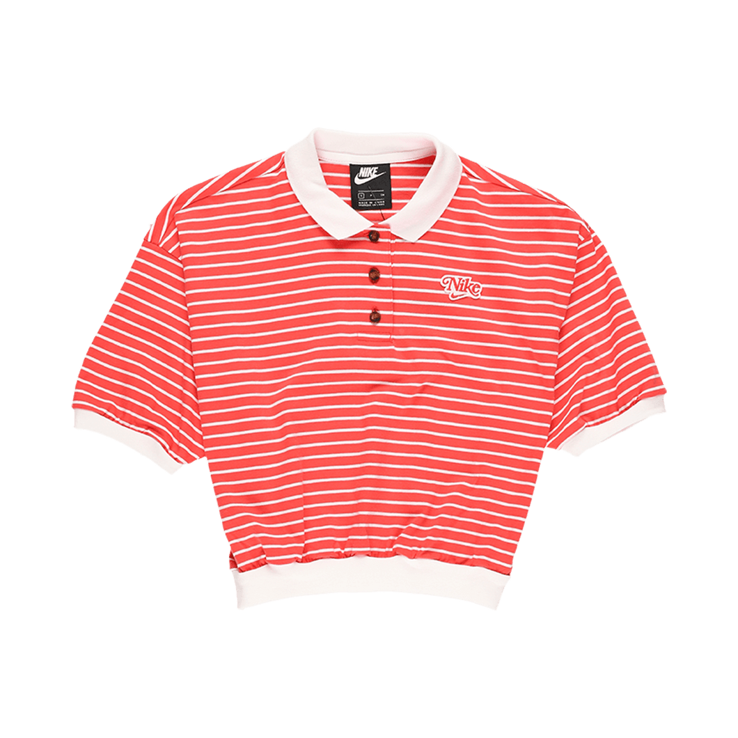 Nike Women's Striped Polo Shirt  - XHIBITION